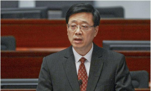 """香港保安局长详解""""香港民族党""""行径:其多次到海外寻求支持"""