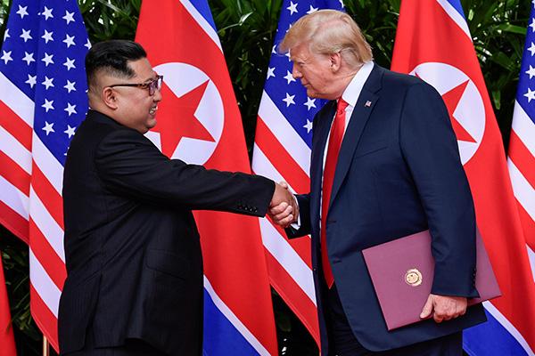 特朗普:第二次朝美首脑会谈场地即将敲定,不在新加坡
