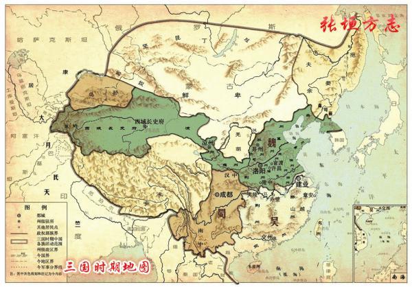 曹彰追击乌桓 东汉末年,特别是黄巾起义之后,东汉王朝名存实亡