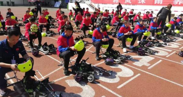 2018全国青少年体育冬夏令营(山西站)旱地滑雪