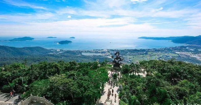 """亚龙湾热带天堂森林公园位于三亚市东南方向25公里,环抱着有""""天下第一图片"""
