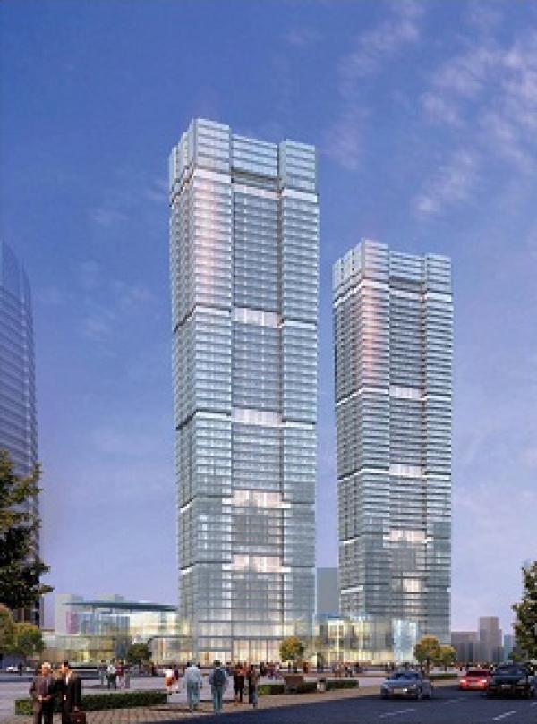 """上港集团拟出售""""上海最高双子楼"""",价格不低于127亿元"""