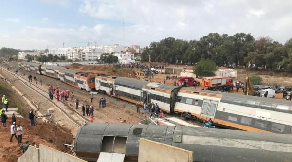 摩洛哥北部发生火车脱轨事故,已造成6人死亡86人受伤