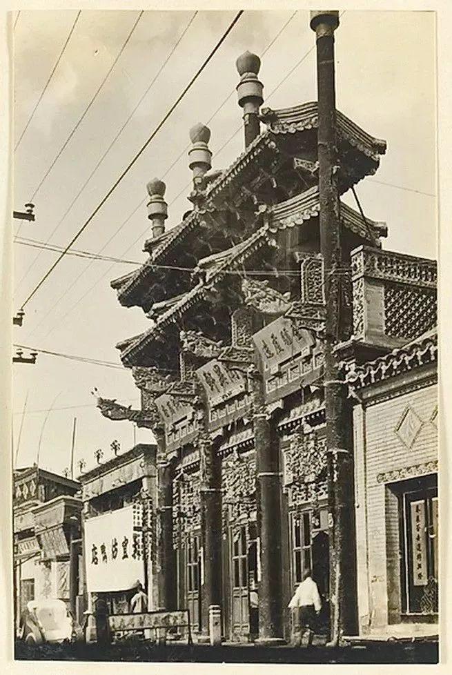 画说北京丨老北京的门脸儿牌楼