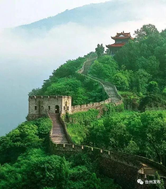 温岭方山图片