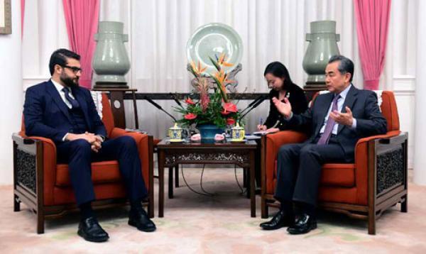 阿富汗总统国家安全顾问访华