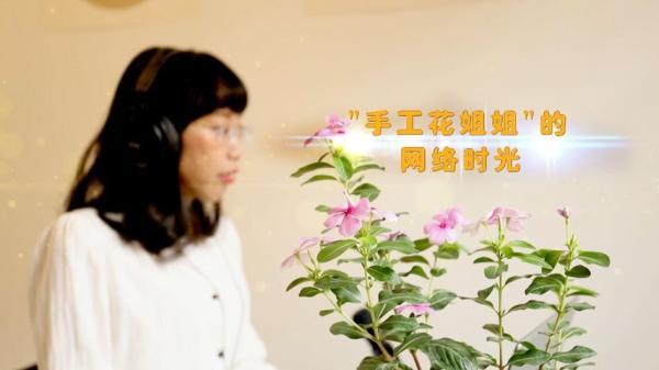 花姐姐_钱芳:《手工花姐姐的网络时光》