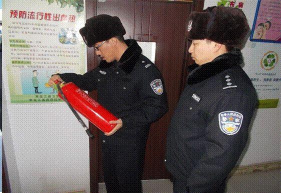 【基层动态】逊克:开展节前消防安全检查