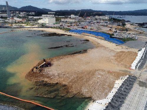 不顾民众反对 日本政府继续填海建基地