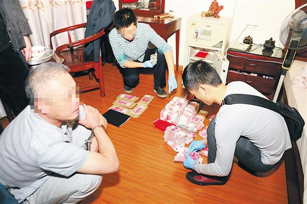 据海南省公安厅副厅长刘海志介绍,这起案件是由中央巡视组和海南省委图片