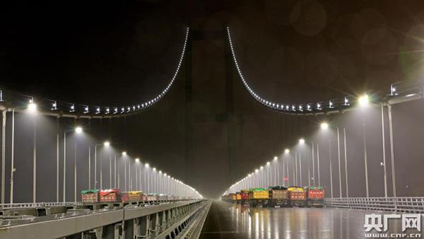 广东虎门二桥已完成荷载试验,预计今年5月1日前