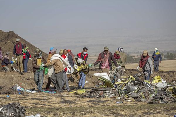 埃航面向遇难者家属举行发布会,赔偿方案尚未确定