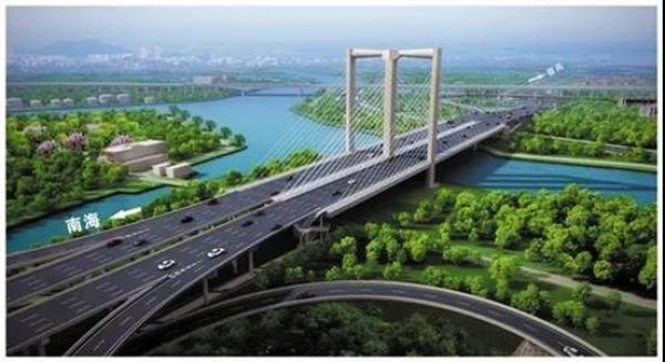 港口路、五斗大桥南接顺德!三龙湾最新动态,
