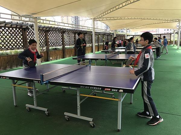 上海民办中小学开放日举行:孩子