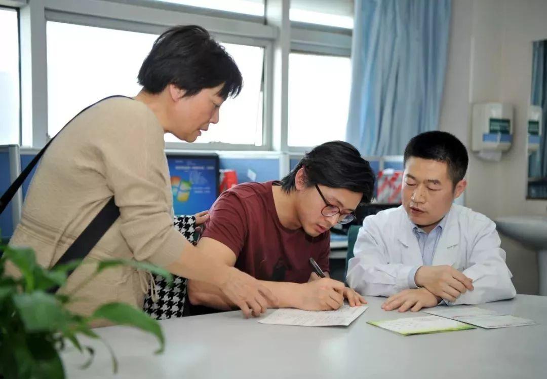 夏穗生的家属签署遗体捐献协议书