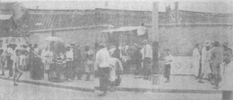 下海庙劳动生活写真片段(七),《勇进》1933年第7期第155页