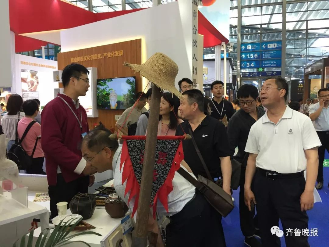 第十五届深圳文博会开幕!山东展区火爆,有企业产品被抢光