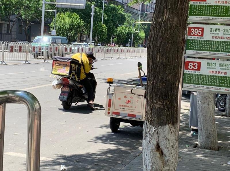 北京大風中的遇難外賣員:接單定格在498,來京不足一個月