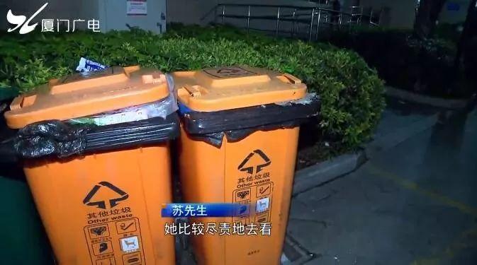 """厦门一年轻女子将新生男婴扔进垃圾桶,称是"""""""