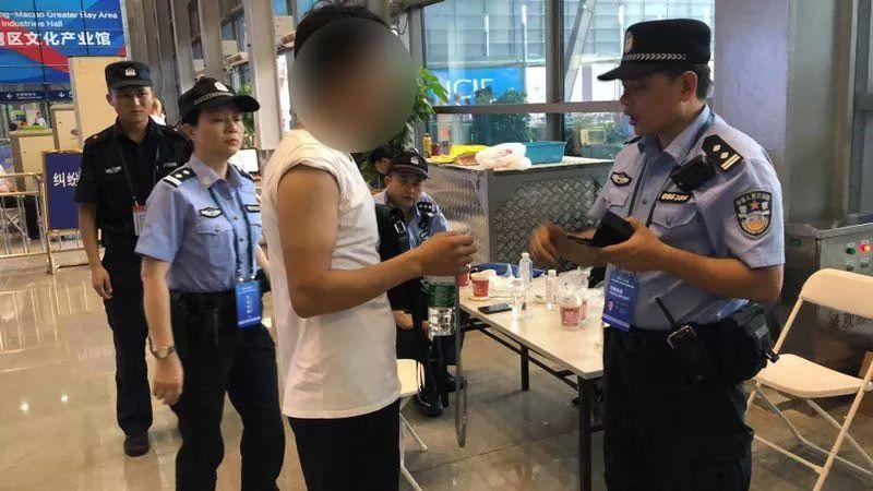 文博会安保,福田警方利用科技手段查获3名网上逃犯