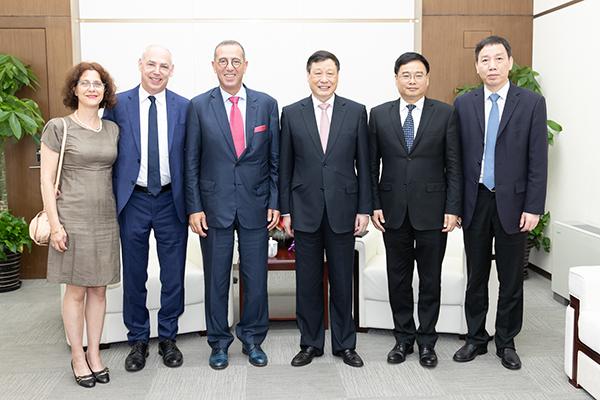 中以创新园启动建设!科技部长、以驻华大使、上海市长同出席
