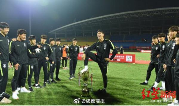 希望中國足球隊(包括U18)能引以為恥,知恥而后勇。