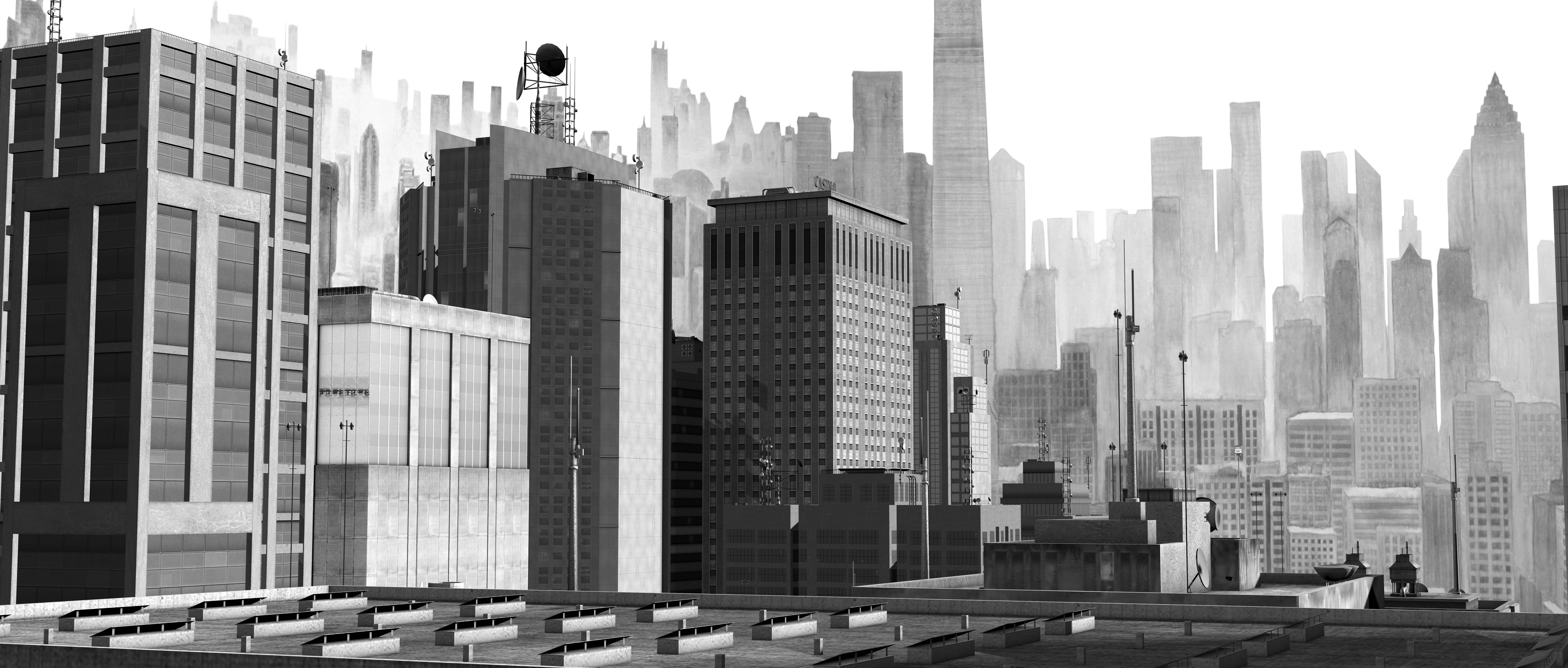 邱黯雄,《新山海经3》影像截图,2018,视频动画,30分钟©️邱黯雄,致谢艺术家和博而励画廊