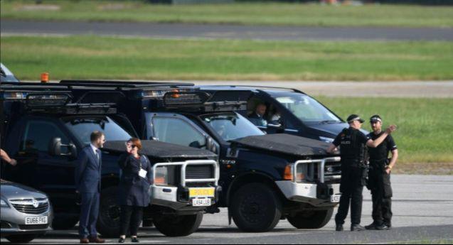 """特朗普又去见女王了,这一次他要管管英国的""""家务事"""""""