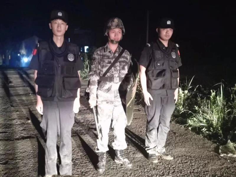 洞口警方披露搜捕張居遷細節:調集1800名警力地毯式搜山