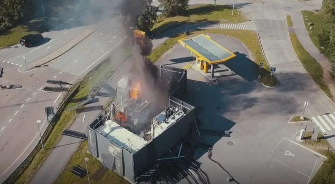 加氢站爆炸,震出周围汽车安全气囊,氢能源车到底安不安全?