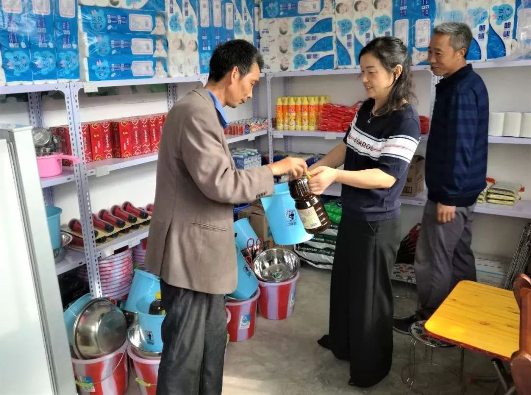 中石油在村里开了个超市,商品全免费!