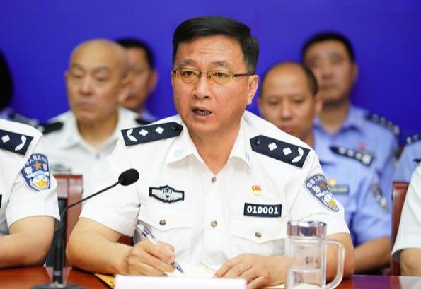 北京铁路公安局党委书记、局长王旭章作动员部署讲话