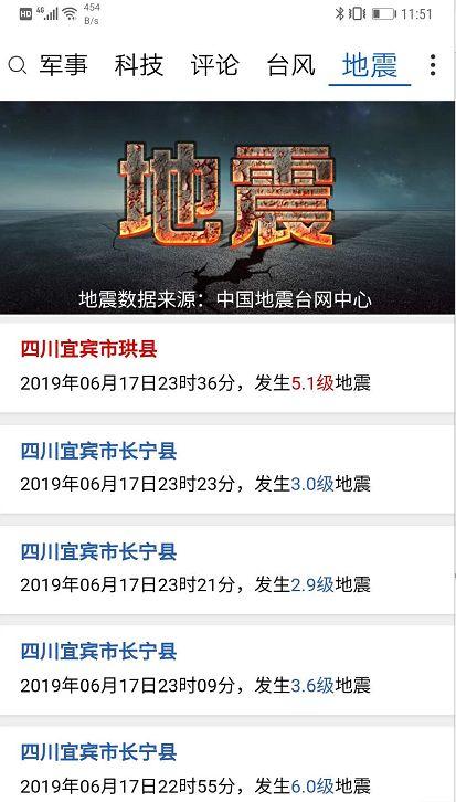 揪心!四川宜宾昨晚发生6级地震,已造成11人死亡...