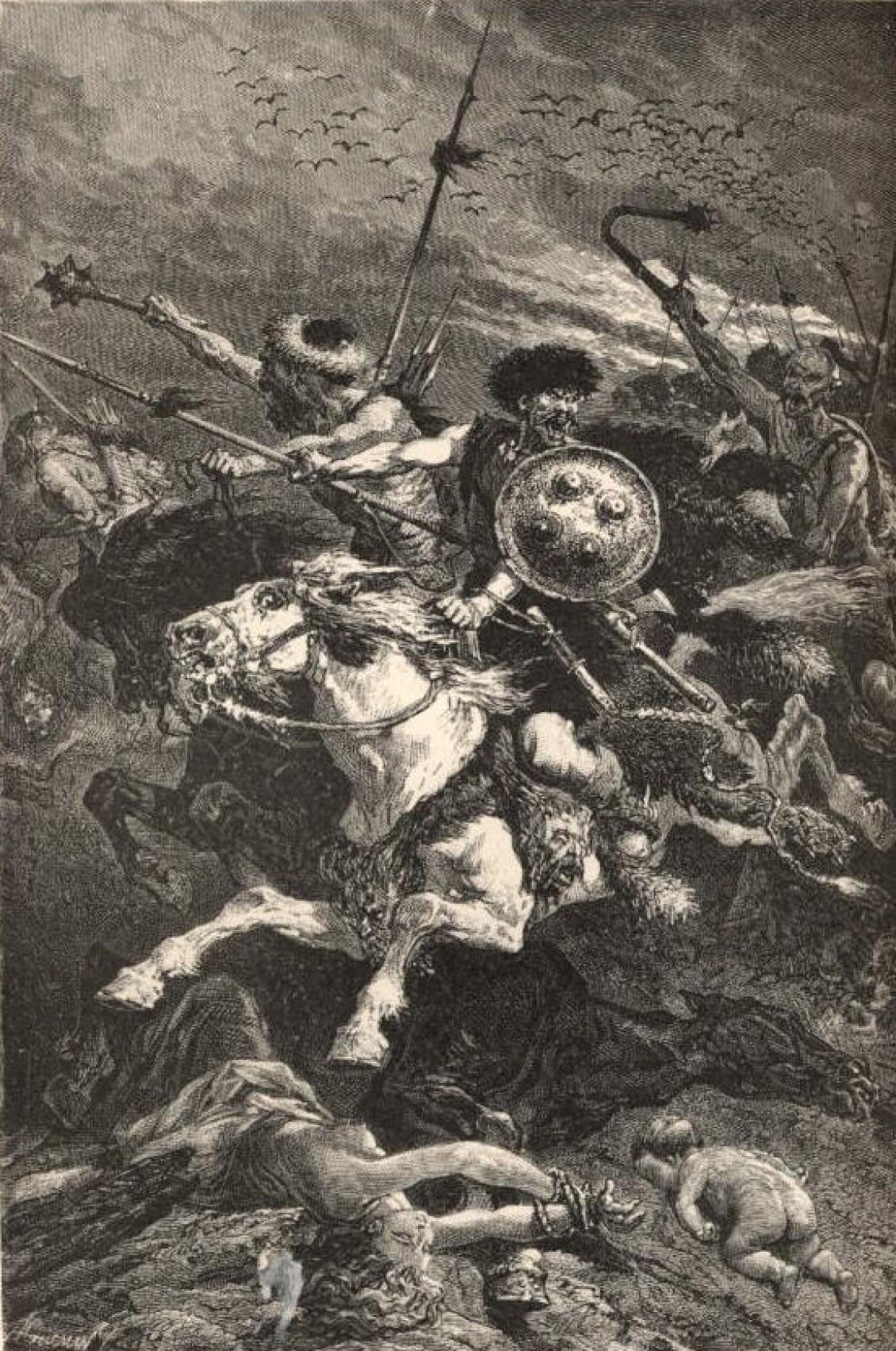 图:沙隆会战