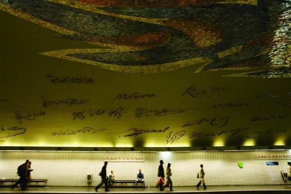 艺术走进生活 公共艺术介入地铁空间