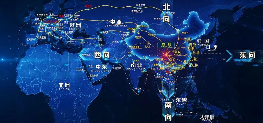 """发展县域经济,成都青白江怎样画""""思维导图""""?"""
