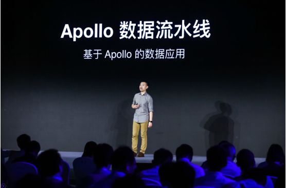 佰度Apollo平台资深架构师缪景皓对Apollo5.0技术才干做出产伸见 图/佰度