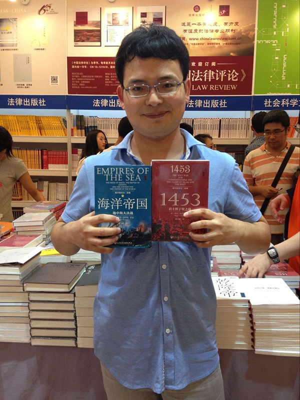 专访|青年译者陆大鹏:学好英语,多读原著