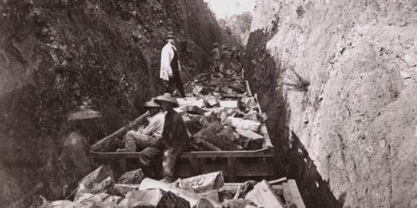 <b>150年前那些被遗忘的华工:美国展出铁路建设中的华人贡献</b>