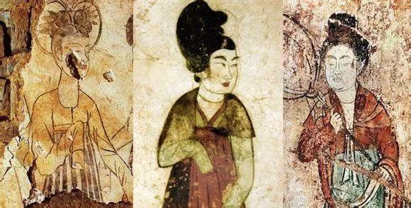 唐代女装三件套:裙、衫、帔