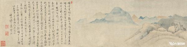"""天津博物馆上新""""新安画派"""",萧云从《山水图卷》全卷展出"""