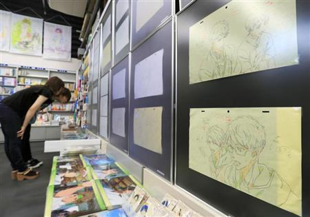 70件京阿尼原画幸免于难,火灾前为办画展刚寄出去