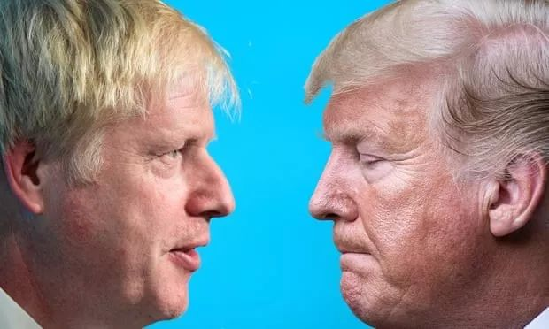 "<b>""英版特朗普""约翰逊与特朗普的真假""友谊""</b>"