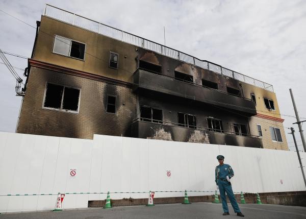 京都纵火案遇难者增至35人,警方搜查嫌犯住所并没收其手机