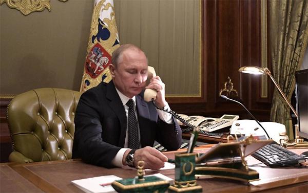 特朗普致电普京:愿意为西伯利亚灭火提供帮助