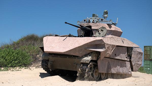 游戏手柄、战机头盔、触摸屏:以色列推出三款未来坦克原型车
