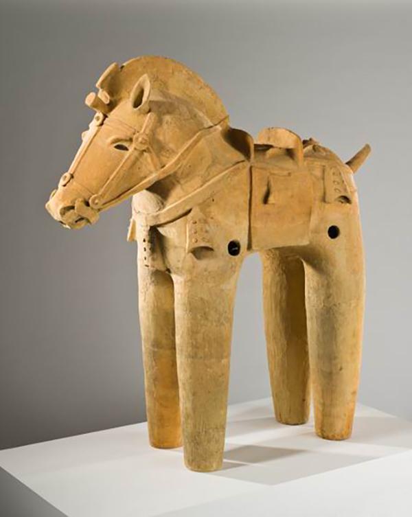"""日本艺术中的动物之变:从马形""""埴轮""""到奈良美智的小猫"""