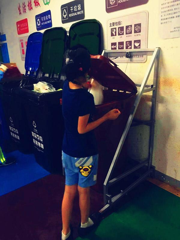 """上海普陀""""解锁""""垃圾分类新技能,还有一支儿童志愿者队伍"""