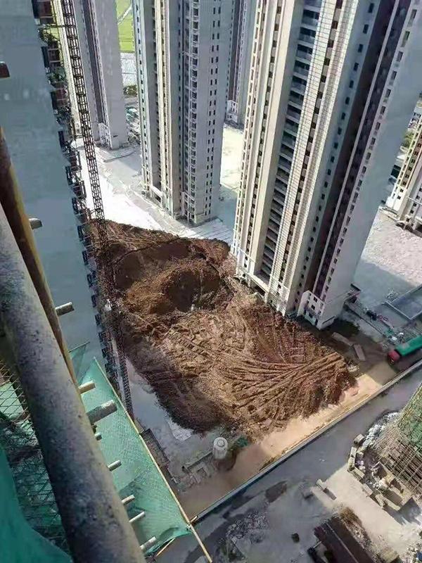 南昌中骏雍景湾项目塌陷,回应:或需两个月时间调查