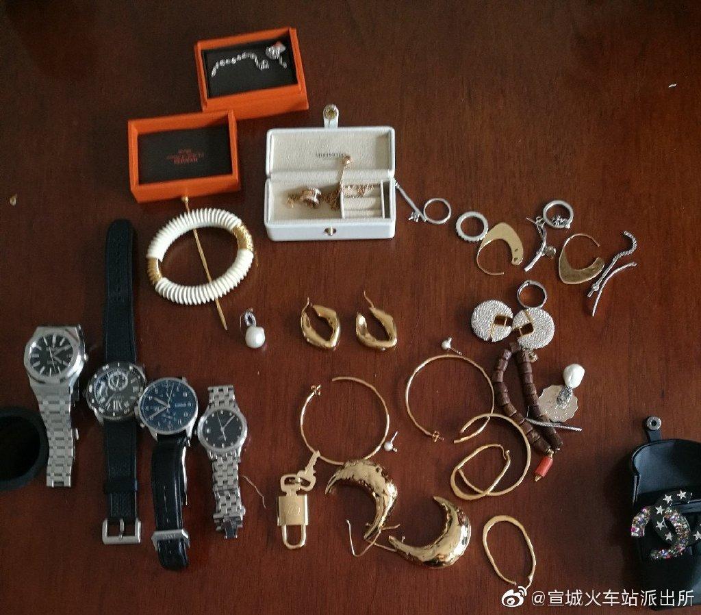 窃贼偷30余万财物后手机遗落作案现场,逃窜途中被铁警抓获